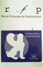Revue Française de Psychanalyse kapak